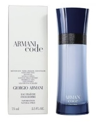 Giorgio Armani Code Colonia, 75ml, Toaletní voda - Tester