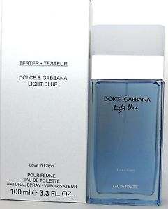 Dolce & Gabbana Light Blue Love In Capri, 100ml, Toaletní voda - Tester