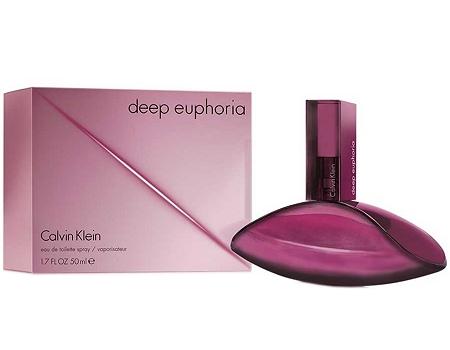 Calvin Klein Deep Euphoria, Toaletní voda, 100ml, Dámska vôňa