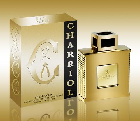 Charriol Royal Gold, 100ml, Toaletní voda