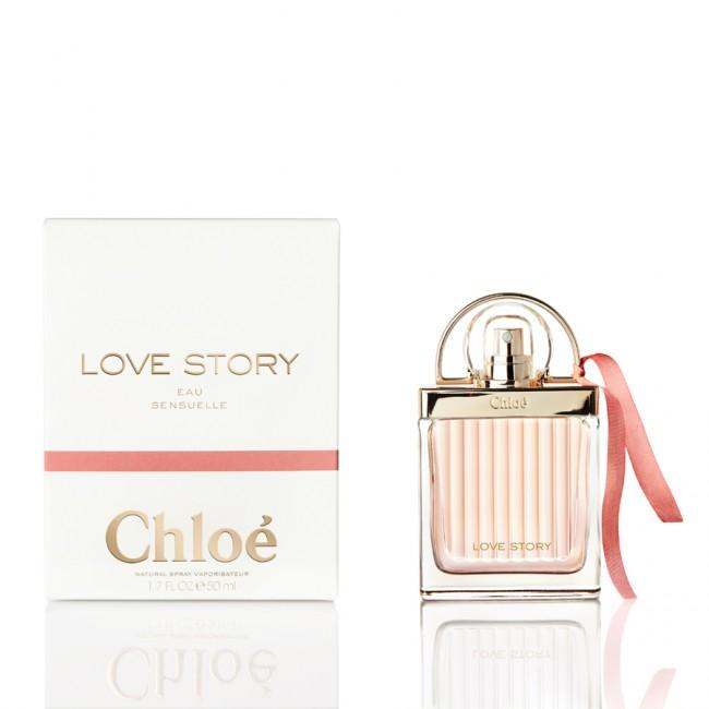 Chloé Love Story Eau Sensuelle, Parfémovaná voda, Dámská vůně, 50ml