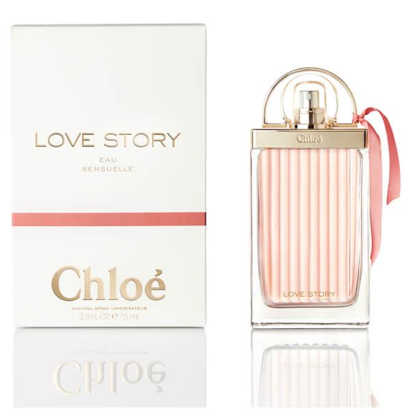 Chloé Love Story Eau Sensuelle, Parfémovaná voda, Dámská vůně, 75ml