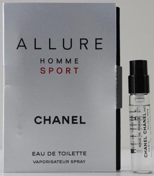 Chanel Allure Homme Sport, Toaletní voda, Pánska vôňa, 2ml