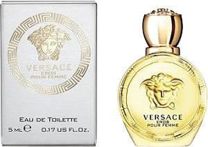 Versace Eros pour Femme, Toaletní voda, 5ml, Dámska vôňa