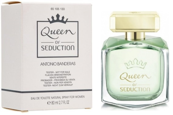 Antonio Banderas Queen of Seduction, 80ml, Toaletní voda - Tester