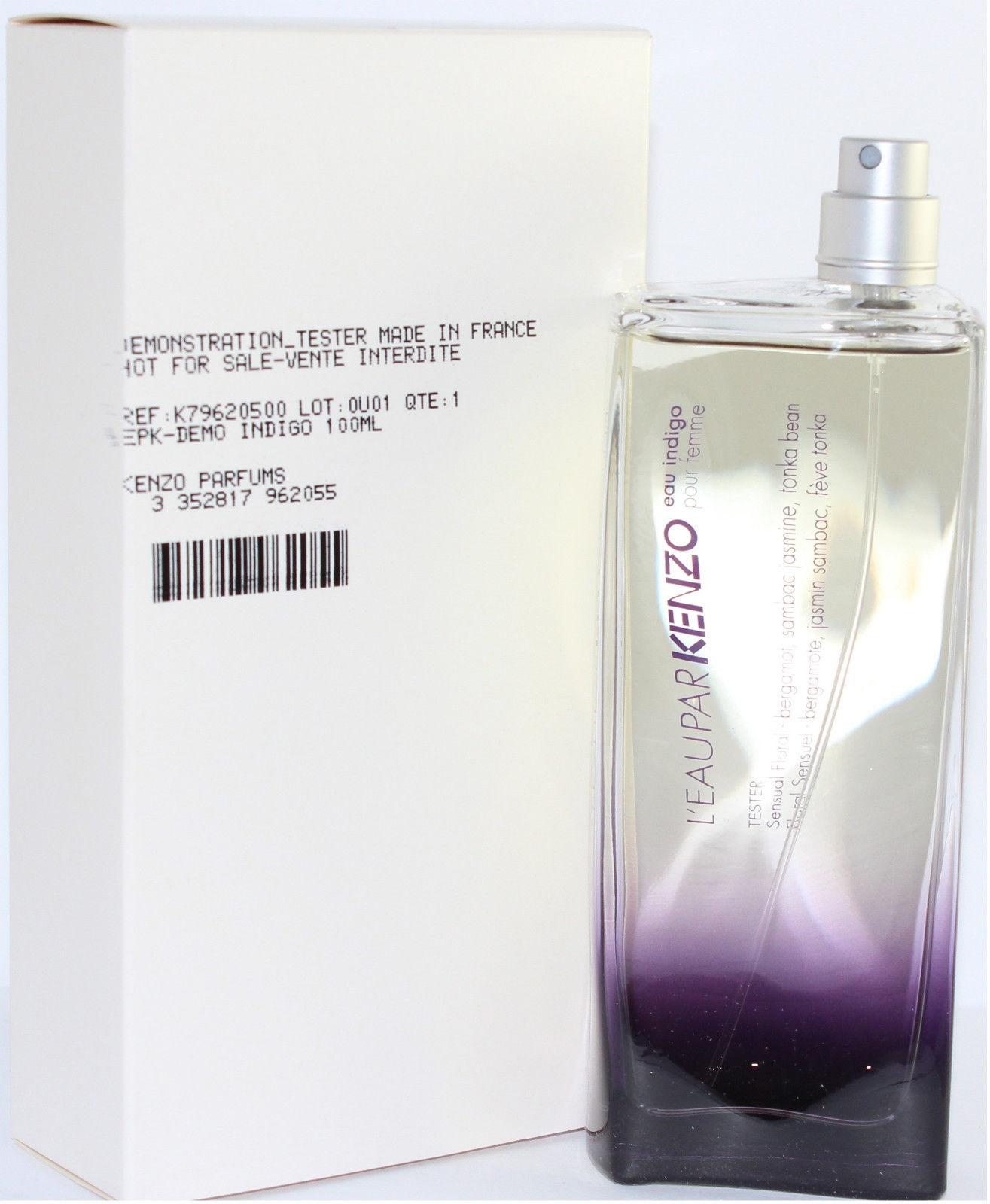 Kenzo L´eau par Kenzo Indigo, Parfémovaná voda - Tester, 100ml, Dámska vôňa