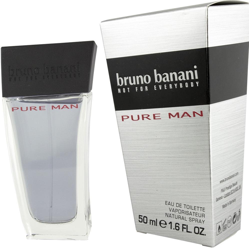 Bruno Banani Pure Man, Toaletní voda, Pro muže, 50ml