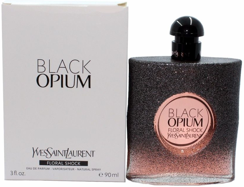Yves Saint Laurent Black Opium Floral Shock, 90ml, Parfémovaná voda - Tester