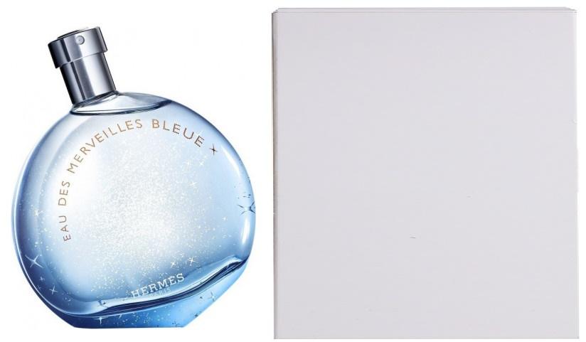 Hermes Eau des Merveilles Bleue, 100ml, Toaletní voda - Tester