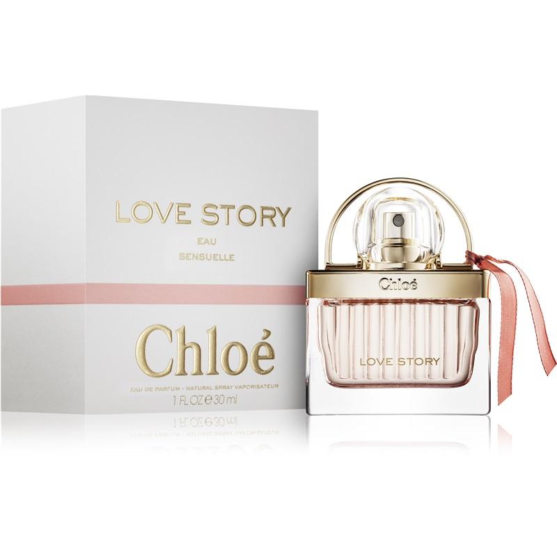 Chloé Love Story Eau Sensuelle, Parfémovaná voda, Dámská vůně, 30ml