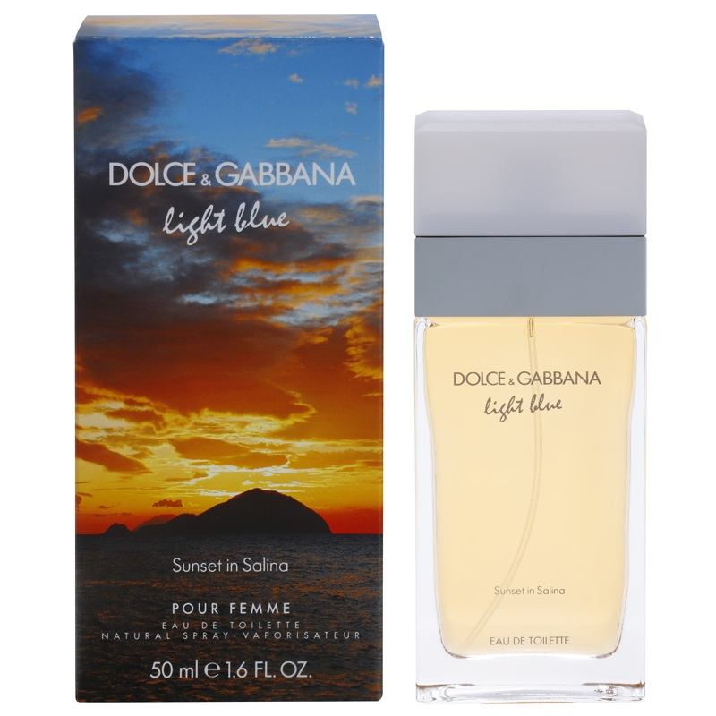 Dolce & Gabbana Light Blue Sunset in Salina, 50ml, Toaletní voda