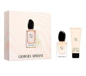 Giorgio Armani Si, parfémovaná voda 30ml + tělové mléko 75ml, Dárková sada