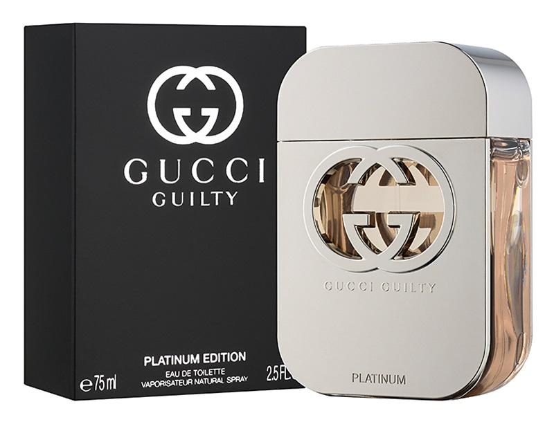 Gucci Guilty Platinum, 75ml, Toaletní voda