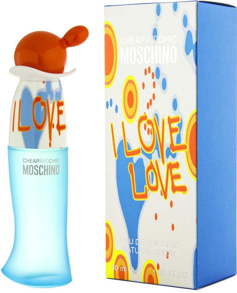 Moschino I Love Love, 30ml, Toaletní voda