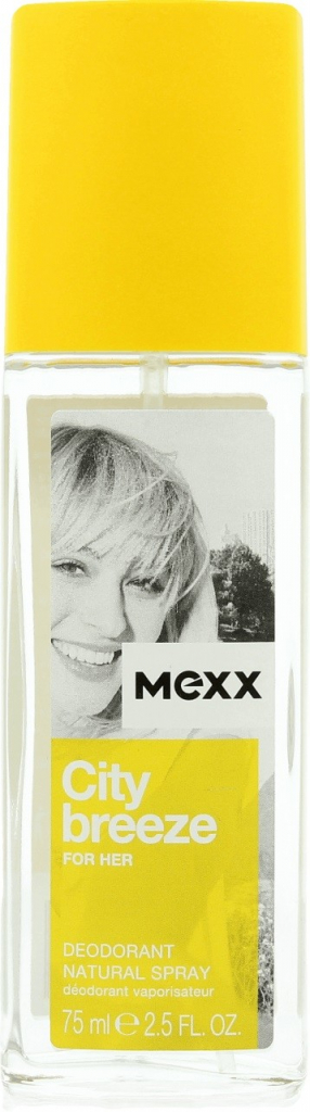 Mexx City Breeze for Her, 75ml, Deodorant