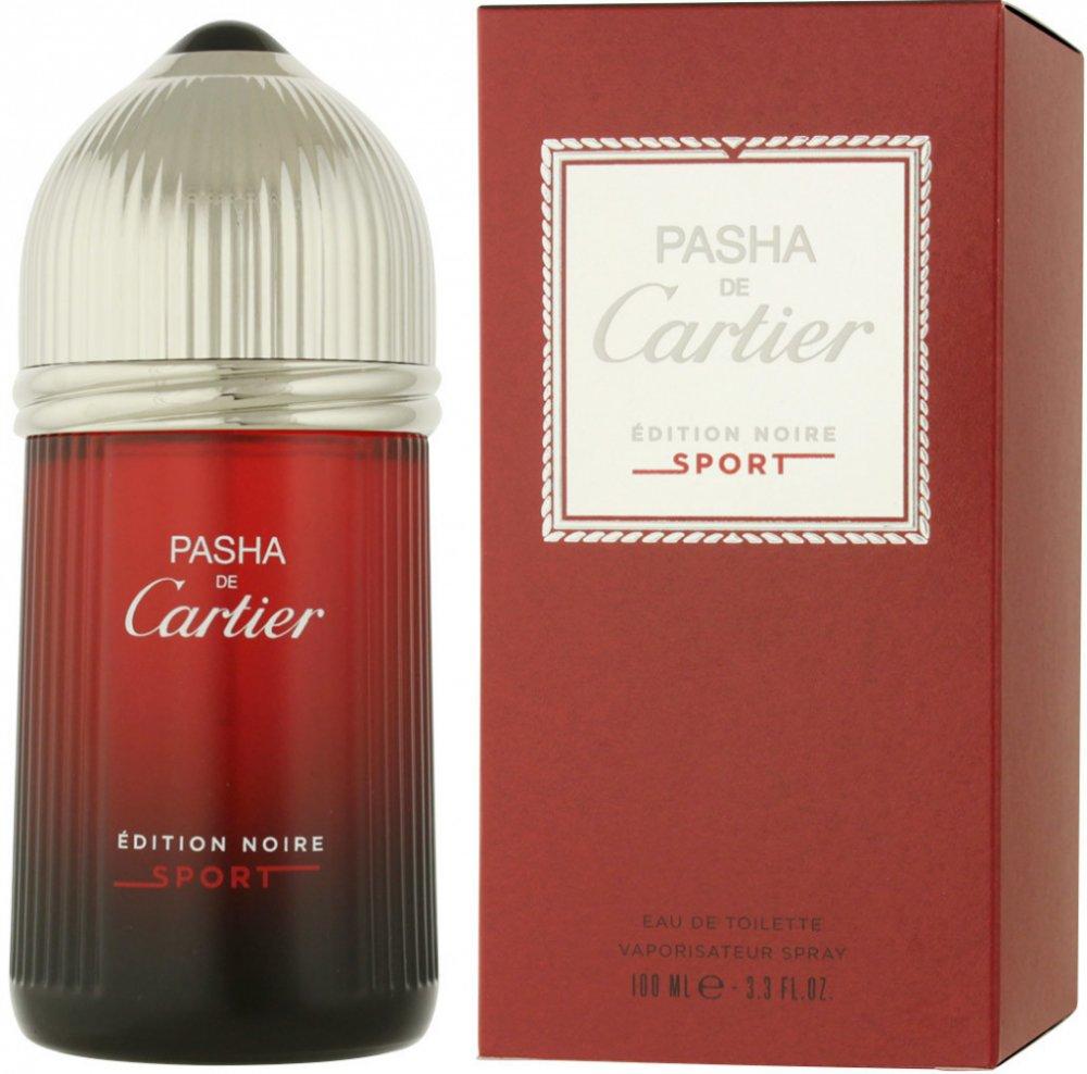 Cartier Pasha de Cartier Edition Noire Sport, 100ml, Toaletní voda