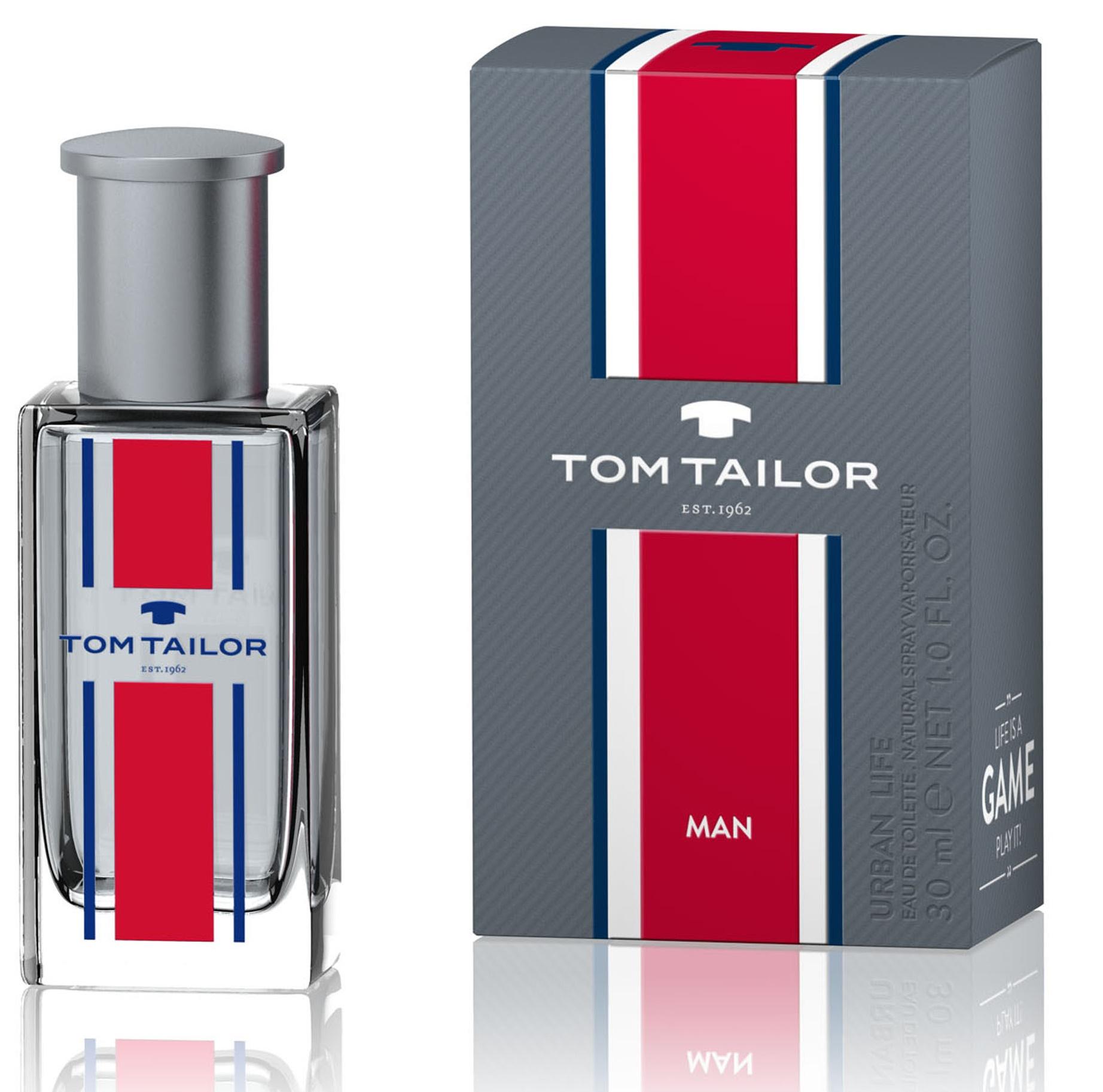 Tom Tailor Urban Life for Man, Toaletní voda, Pánska vôňa, 30ml
