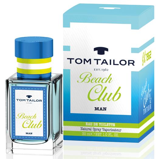 Tom Taylor Beach Club for Men, Toaletní voda, Pánska vôňa, 30ml
