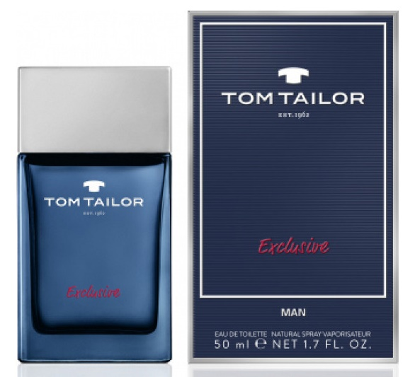 Tom Tailor Exclusive Man, 50ml, Toaletní voda