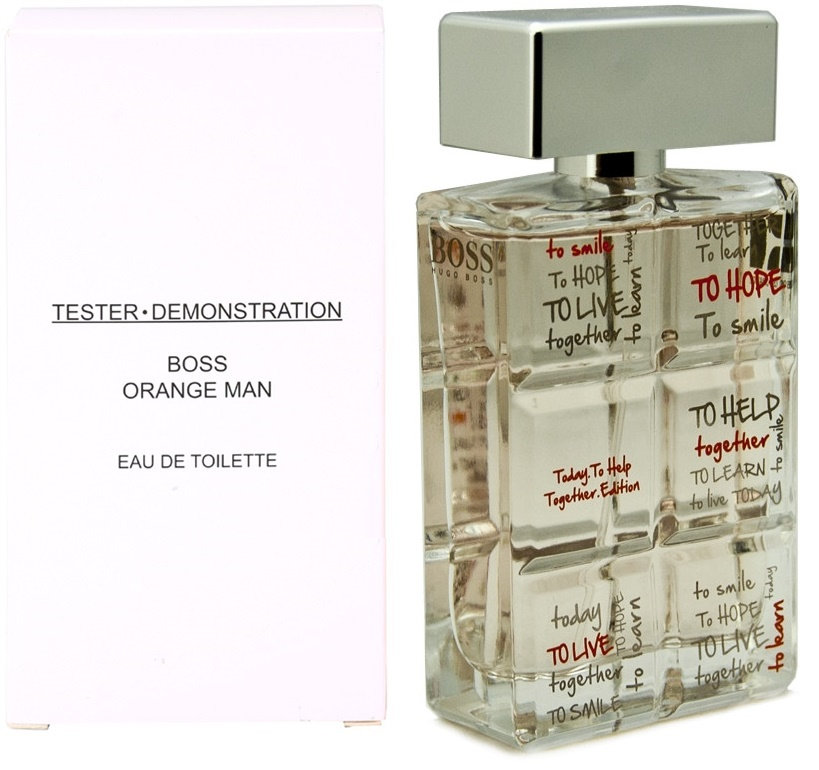 Hugo Boss Orange for Man Charity Edition, 60ml, Toaletní voda - Tester