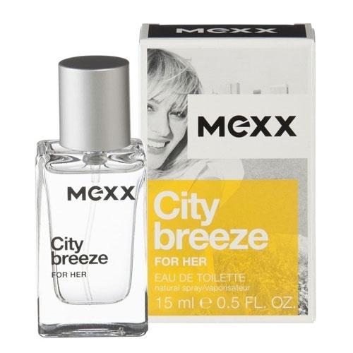 Mexx City Breeze for Her, Toaletní voda, Pro ženy, 15ml