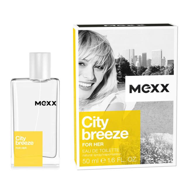 Mexx City Breeze for Her, Toaletní voda, Pro ženy, 50ml