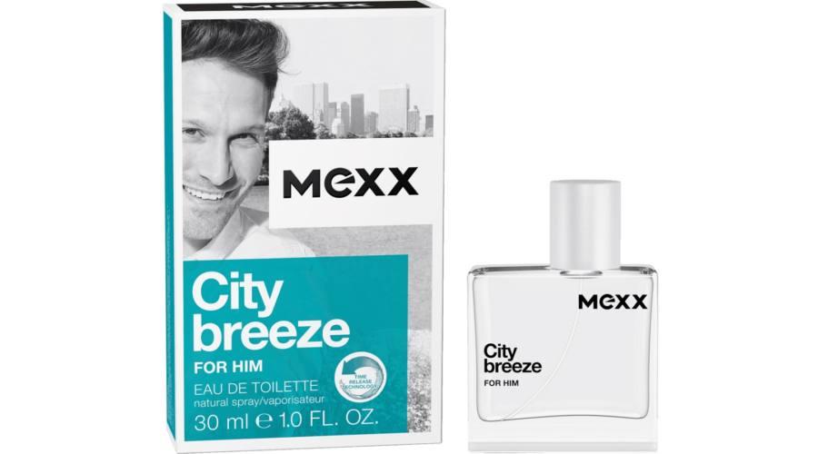 Mexx City Breeze For Him, Toaletní voda, Pro muže, 30ml