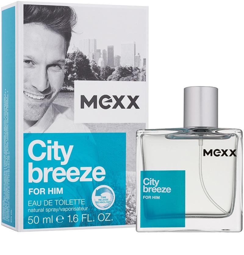 Mexx City Breeze For Him, Toaletní voda, Pro muže, 50ml