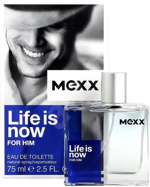 Mexx Life Is Now for Him, 75ml, Toaletní voda