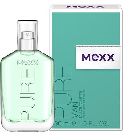 Mexx Pure for Men, Toaletní voda, Pro muže, 30ml