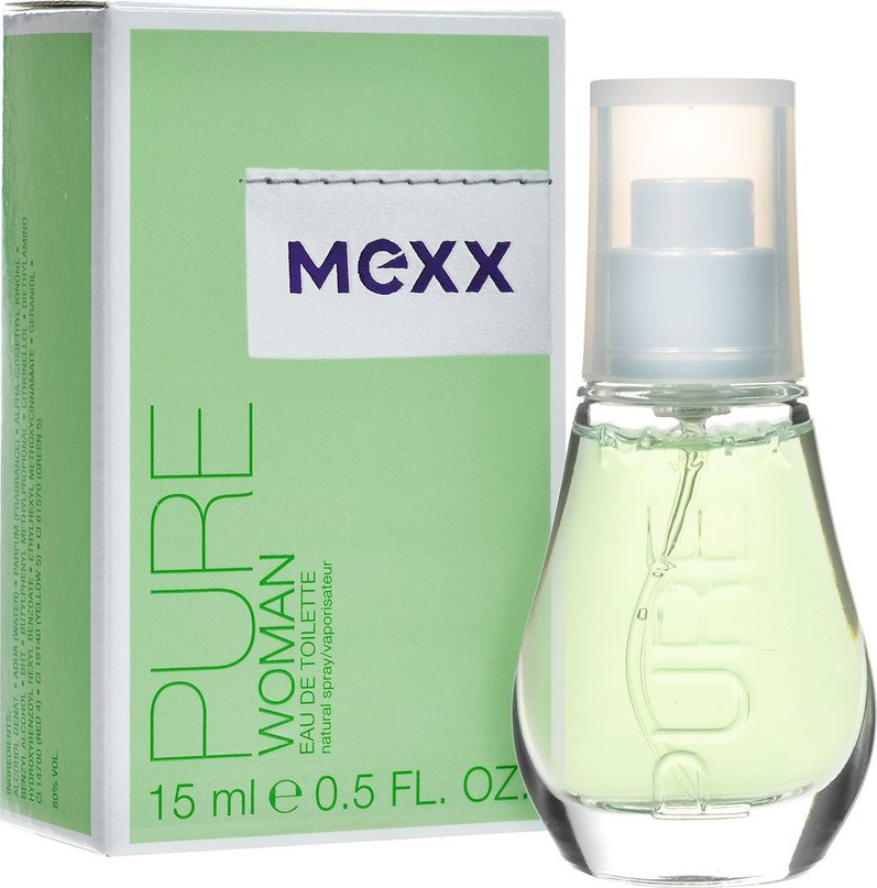 Mexx Pure for Women, Toaletní voda, Pro ženy, 15ml