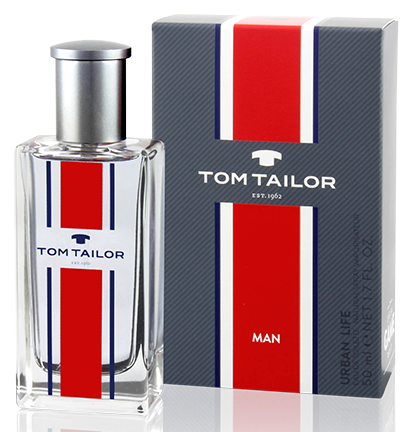 Tom Tailor Urban Life for Man, 50ml, Toaletní voda