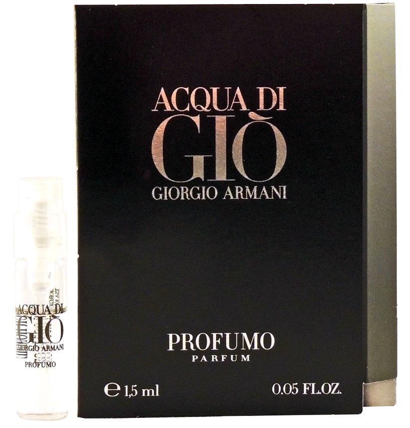 Giorgio Armani Acqua di Gio Profumo, Parfémovaná voda, 1.5ml, Pánska vôňa