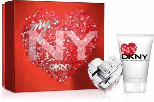 DKNY My NY, Parfémovaná voda, parfémovaná voda 50ml + tělové mléko 100ml, Dámska vôňa