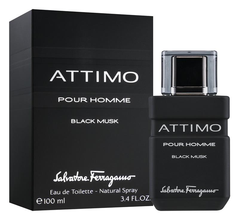 Salvatore Ferragamo Attimo Black Musk pour Homme, Toaletní voda, 100ml, Pánska vôňa
