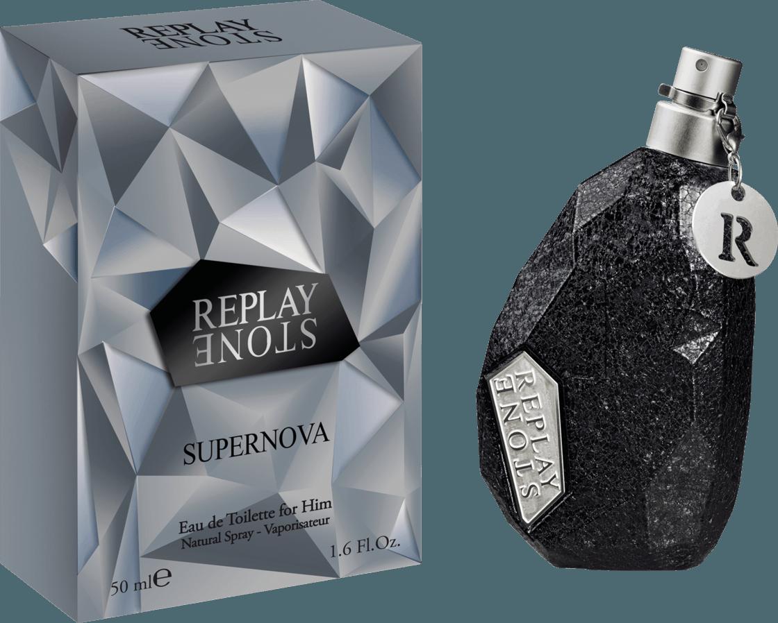 Replay Stone Supernova for Him, Toaletní voda, Pánska vôňa, 50ml