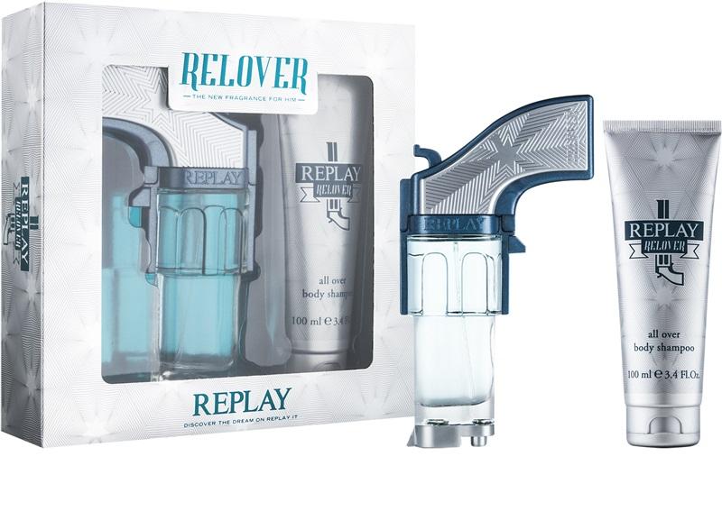 Replay Relover, toaletní voda 25ml + sprchový gel 100ml, Dárková sada