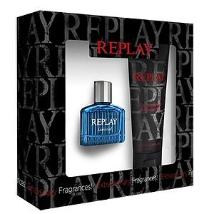 Replay Essential for Him, toaletní voda 30ml + sprchový gel 100ml, Dárková sada