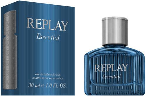 Replay Essential for Him, Toaletní voda, Pánska vôňa, 30ml