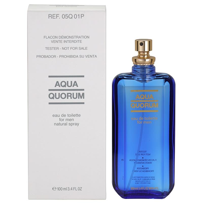 Antonio Puig Aqua Quorum, 100ml, Toaletní voda - Tester