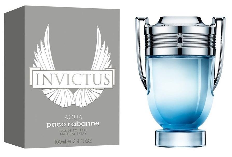 Paco Rabanne Invictus Aqua, Toaletní voda, 100ml, Pánska vôňa