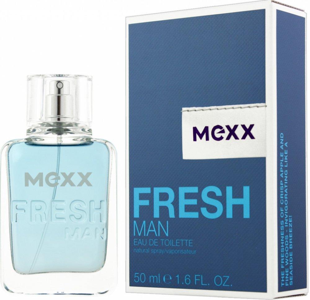 Mexx Fresh Man, Toaletní voda, Pro muže, 50ml