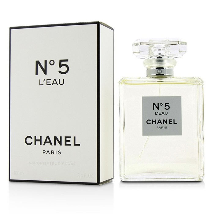 chanel no 5 l eau bez krabice s v kem. Black Bedroom Furniture Sets. Home Design Ideas